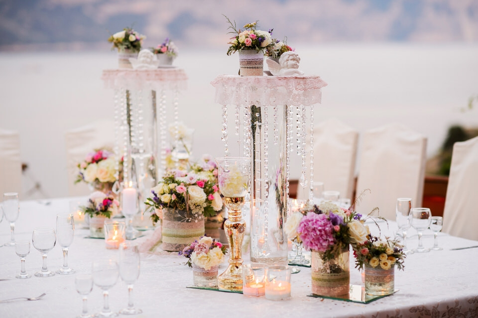 luxury wedding reception french riviera