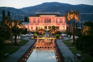 wedding venue villa ephrussi de rothschild