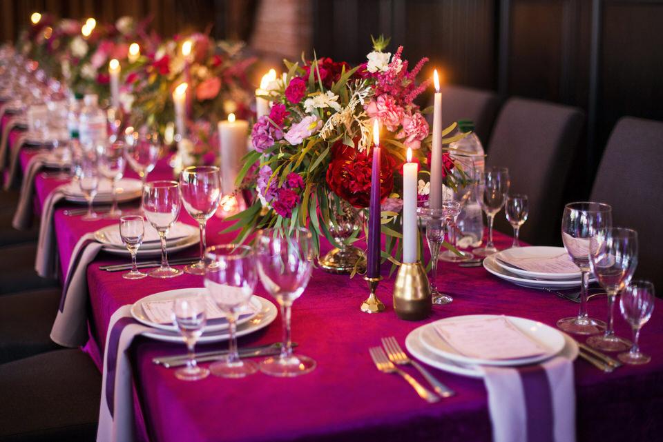 décoration de mariage, haut de gamme